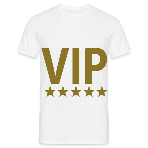VIP 5 Sterne - Männer T-Shirt