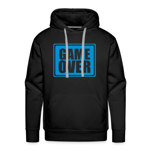 Game over - Sweat-shirt à capuche Premium pour hommes
