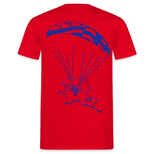 T-shirt para bleu elec - T-shirt Homme