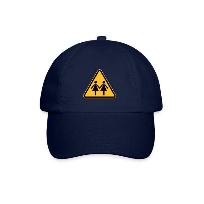 Lesben Shop: Baseball Kappe Mütze Cap ACHTUNG! LESBEN POWER