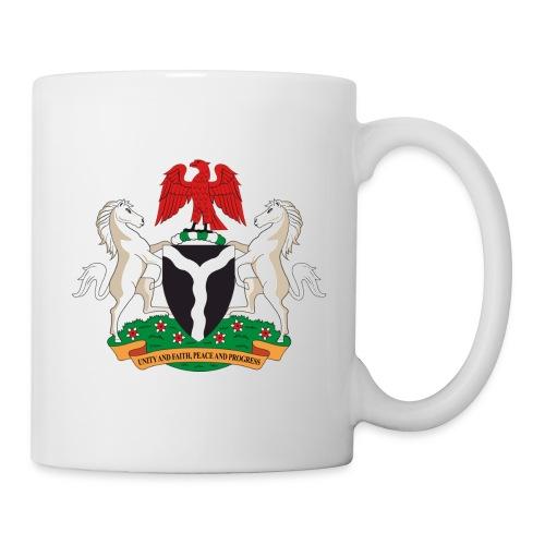 naija coat of arms - Mug