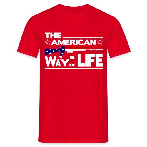 American Way of Life - Männer T-Shirt
