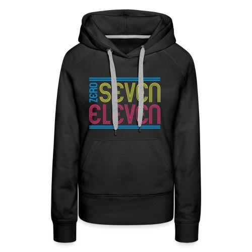 ZERO SEVEN  - Frauen Premium Hoodie