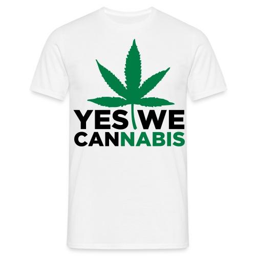 YesWeCannabis T-Shirt - Men's T-Shirt