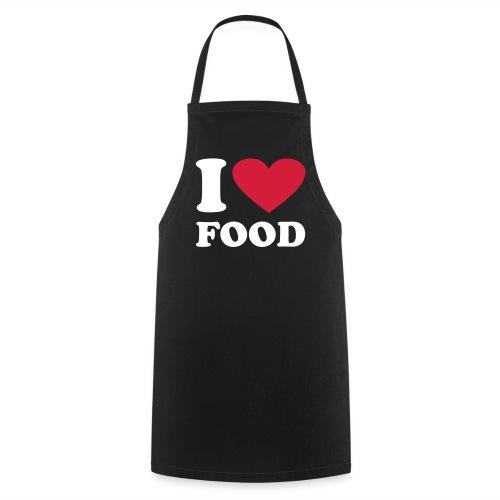 I Love Food Apron - Cooking Apron