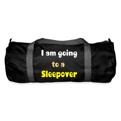 I am going to a sleepover - Duffel Bag