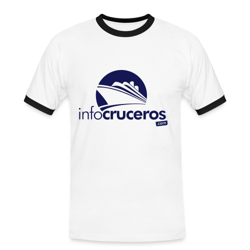 Camiseta masculina - Camiseta contraste hombre