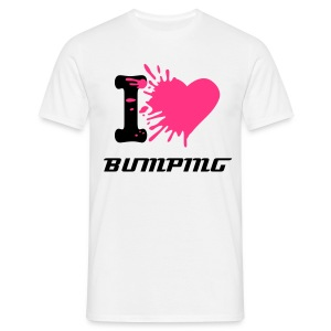 I love BUMPING - T-shirt Homme