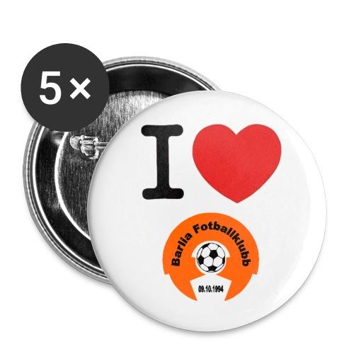 BFK-button - Liten pin 25 mm