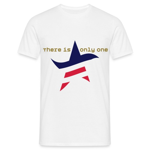 There is only one AMERICAN STAR - Männer T-Shirt