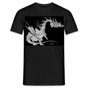 Little Dragon (Man) - Männer T-Shirt