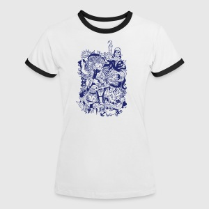 sailors yarn - Frauen Kontrast-T-Shirt