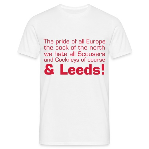 'Cock of the North' tee. - Men's T-Shirt