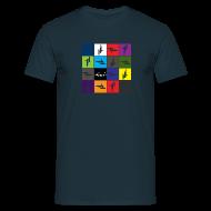 T-Shirts ~ Men's T-Shirt ~ Detailing World 'Rotary' T-Shirt (Men's)
