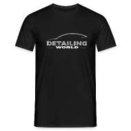 T-Shirts ~ Men's T-Shirt ~ Detailing World 'Questions' B&W T-Shirt