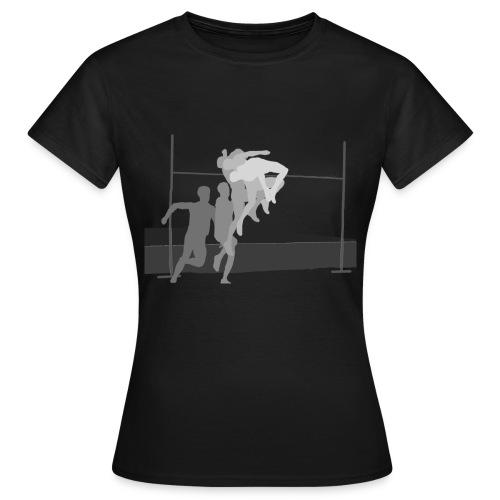 High Jump - our passion - Frauen T-Shirt