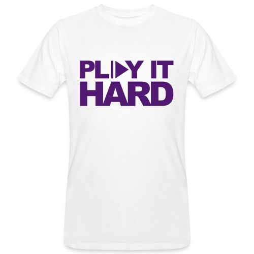 Tee shirt Homme PLAY IT HARD - T-shirt bio Homme