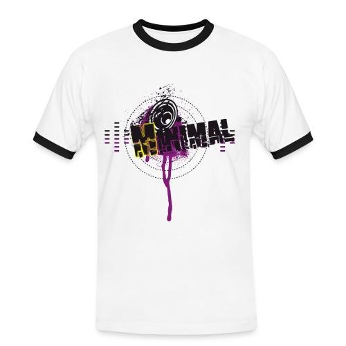 minimal/ToDo-Man - Männer Kontrast-T-Shirt