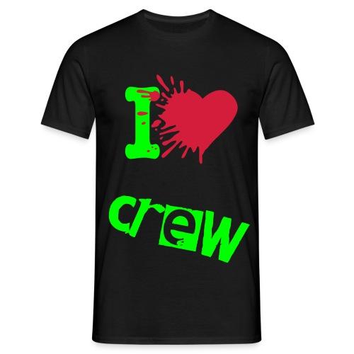 Crew T-shirt - Männer T-Shirt