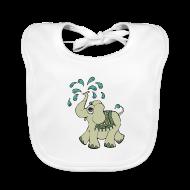 Baby hagesmække ~ Baby økologisk hagesmæk ~ Elephant boy