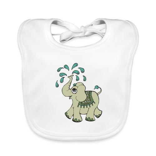 Elephant boy - Baby økologisk hagesmæk