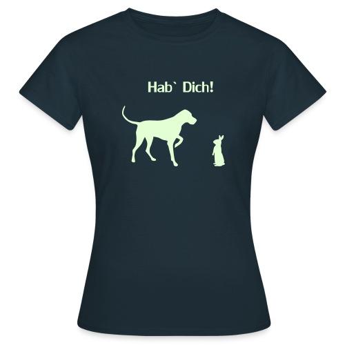 Hund und Hase - Frauen T-Shirt