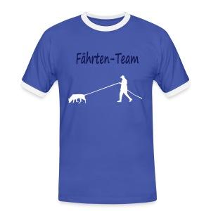 Fährten-Team - Männer Kontrast-T-Shirt