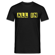 T-shirts ~ T-shirt herr ~ ALL IN / OUT (Herr)