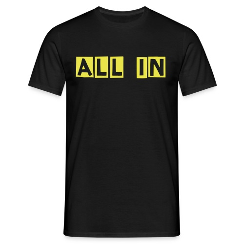 ALL IN / OUT (Herr) - T-shirt herr