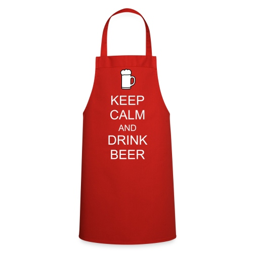 KEEP CALM AND DRINK BEER Apron - Cooking Apron