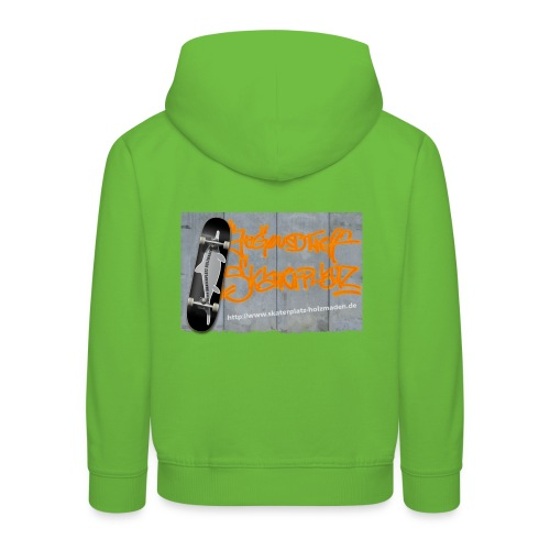 Graffiti Skateboard Kinder - Kinder Premium Hoodie