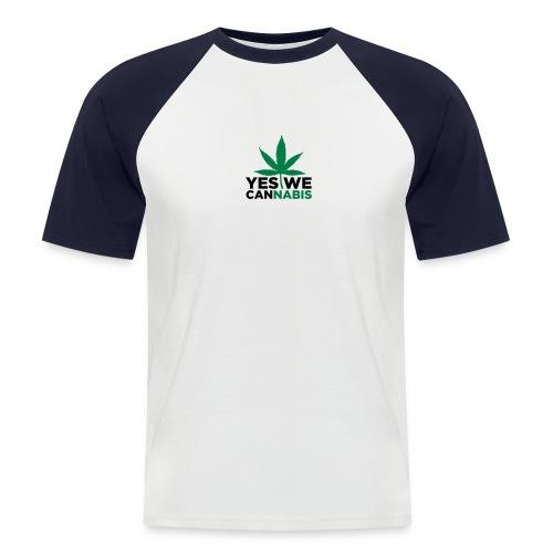 Kurzarm Shirt - Männer Baseball-T-Shirt