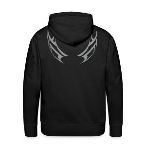 angel or devil mens - Men's Premium Hoodie