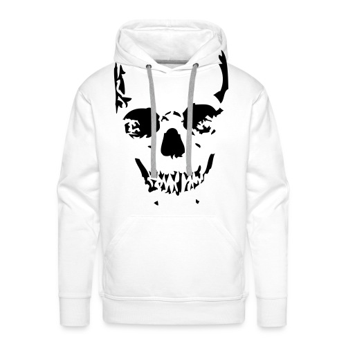 Winter Skull - Sweat-shirt à capuche Premium pour hommes