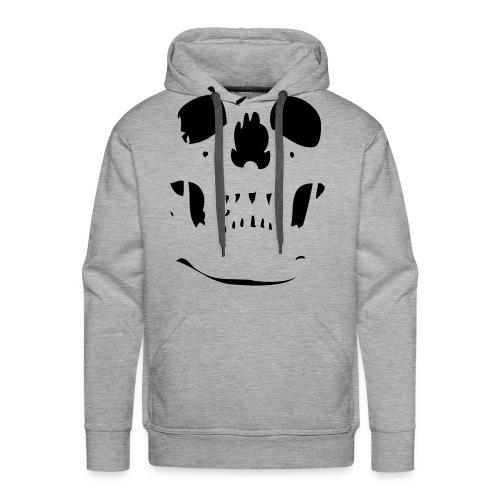 Winter Skull - Sweat-shirt à capuche Premium pour hommes