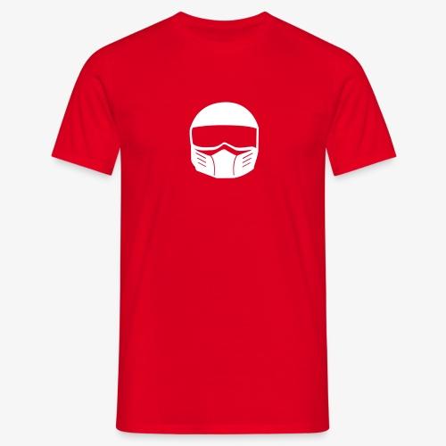 Fighterhelm - Männer T-Shirt
