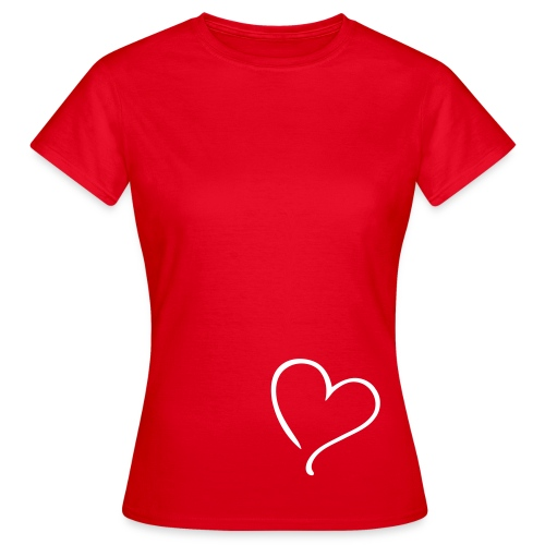 Love, By RJ - Vrouwen T-shirt