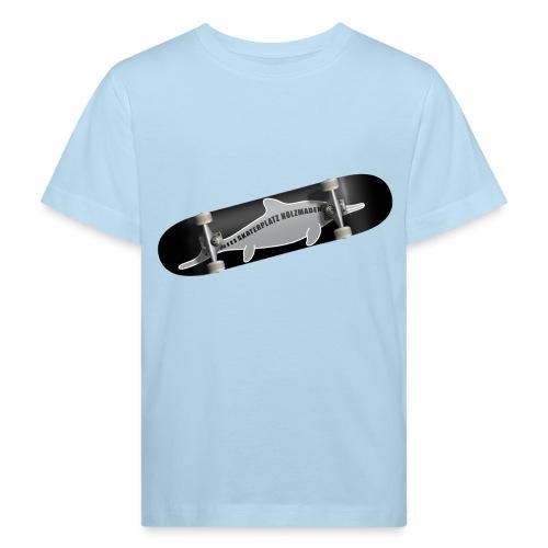 Skateboard Ichthyosaurus Foto Kinder - Kinder Bio-T-Shirt