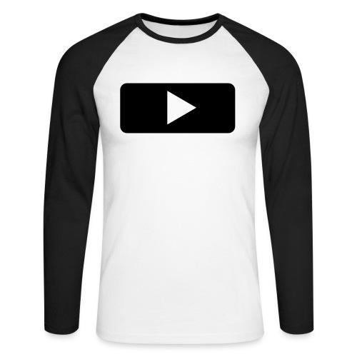 T-shirt PLAY manica lunga - Maglia da baseball a manica lunga da uomo