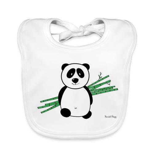 Bavez sur Lolly le panda - Bavoir bio Bébé