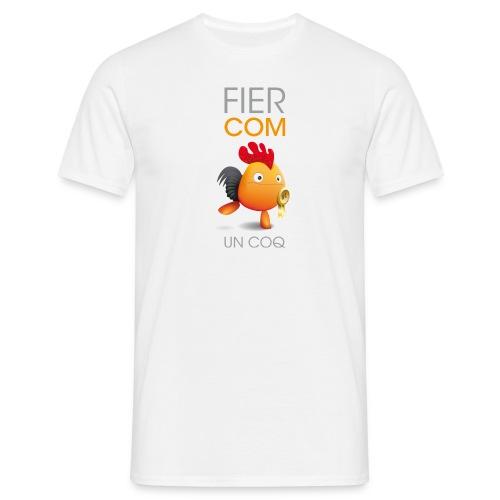 T-SHIRT fier comme un coq - T-shirt Homme