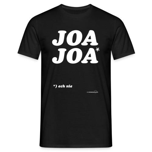 JoaJoa (witte opdruk) - Mannen T-shirt