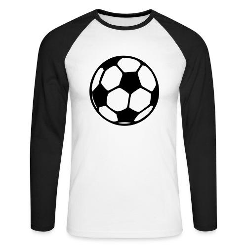 Fußball - Männer Baseballshirt langarm