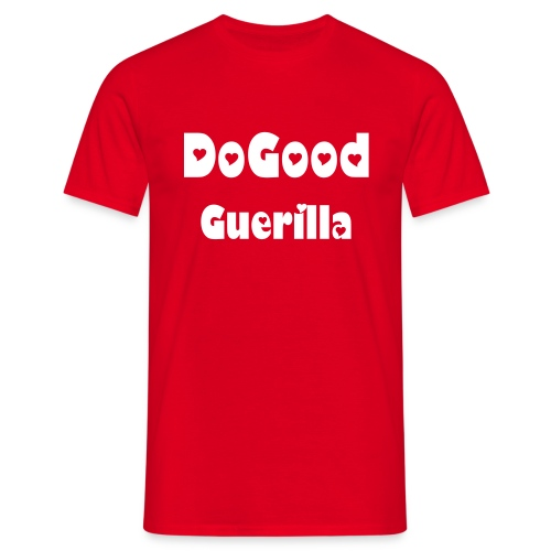 DoGoodGuerilla Tee brown/yellow - Männer T-Shirt
