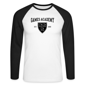 Men Longsleeve, LUDERE Wappen - Men's Long Sleeve Baseball T-Shirt