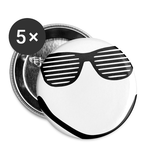 Buttons groß 56 mm (5er Pack)