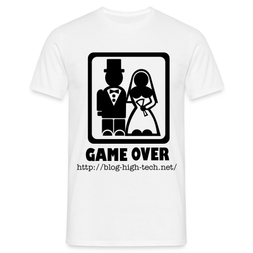 Game over you got married - T-shirt Homme
