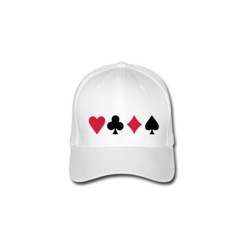 Poker - Flexfit Baseballkappe