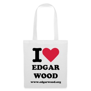 I Love Edgar Wood - Tote Bag