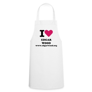 I Love Edgar Wood - Cooking Apron